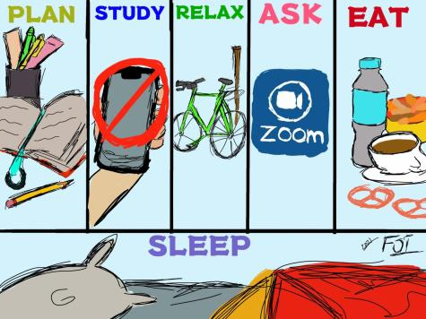 How to prepare and de-stress for midterms