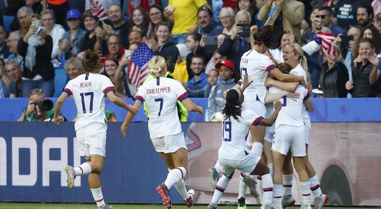 2019 FIFA Women's World Cup Tactical Focus- USA vs  Sweden