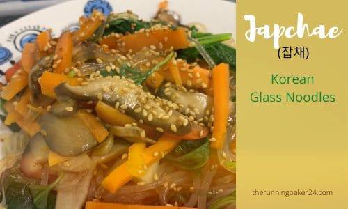 Vegan Japchae Korean Glass Noodles