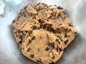 dough of ginger cookies