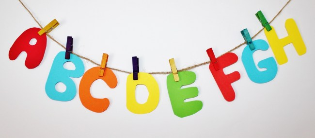 Learning thise letters