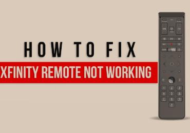 fix xfinity remote not working