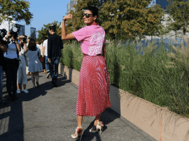 NYFW is all about personal style and flare.