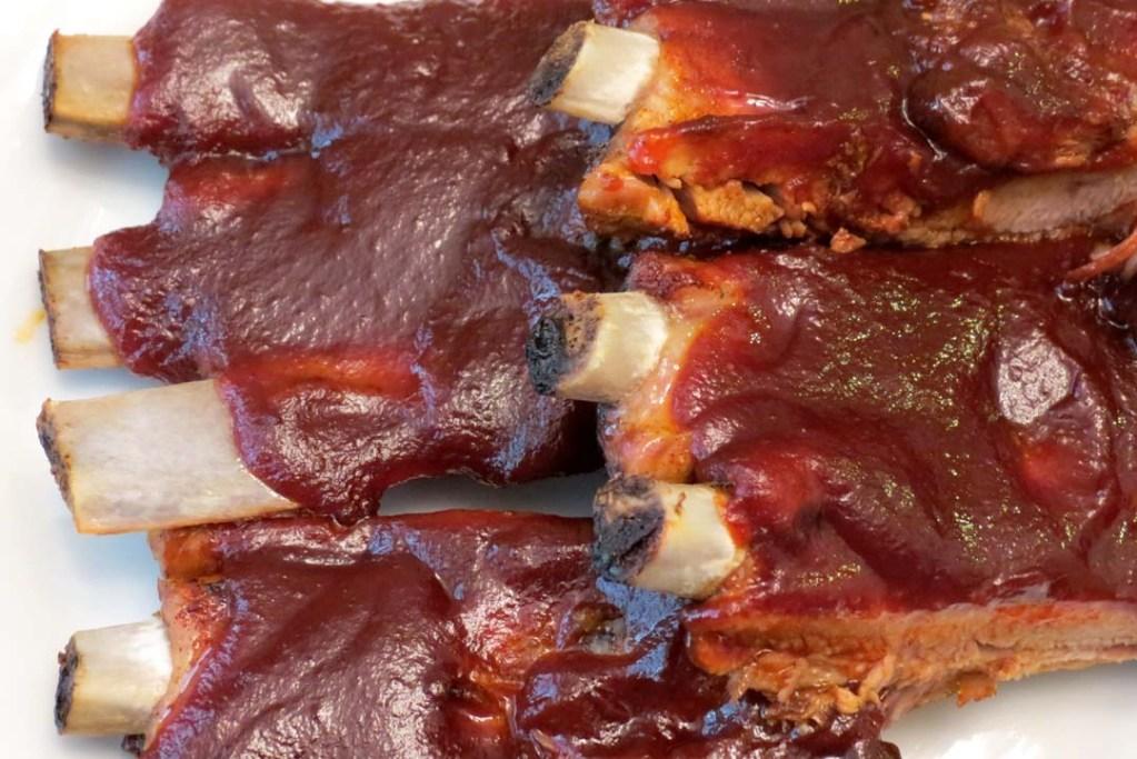 served-ribs