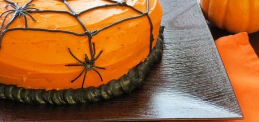 spider-web cake