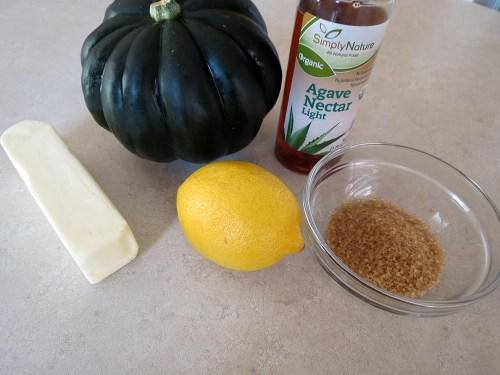 ingredients for acorn squash