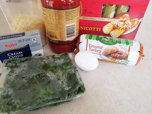 ingredients for stufforonis