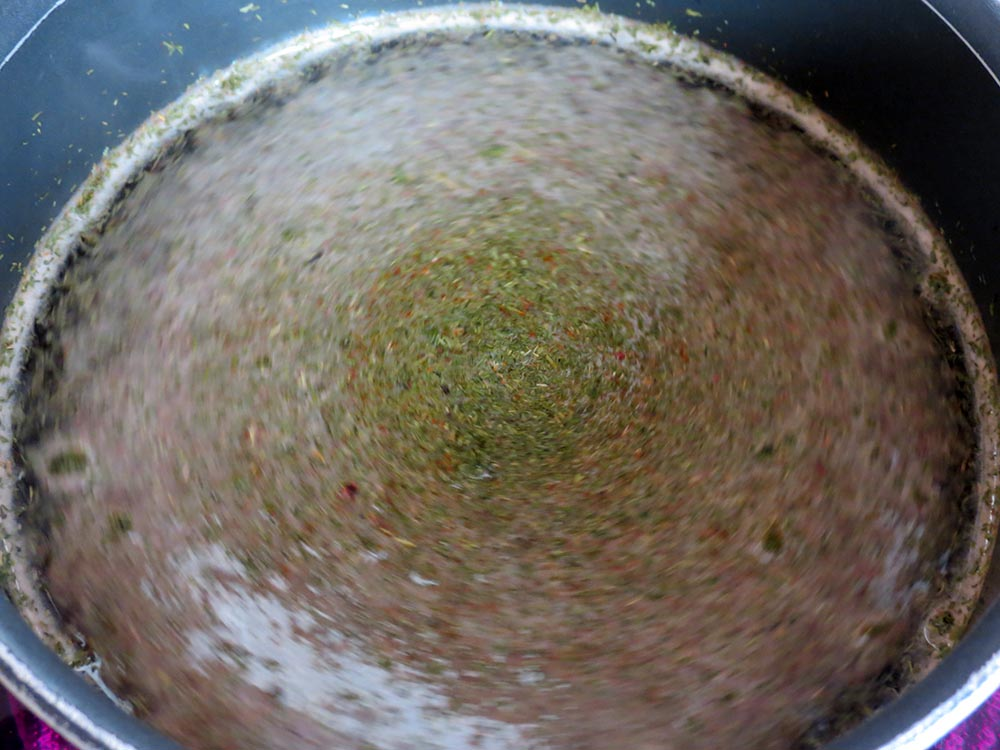 making-marinade