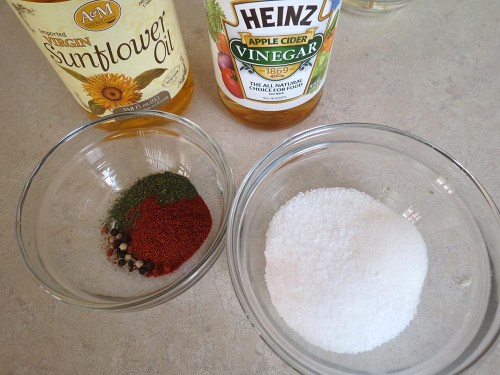 marinade ingredients