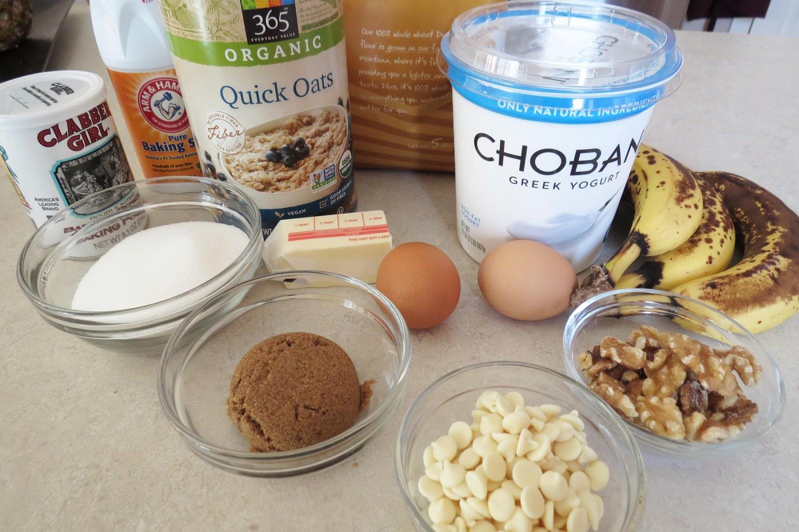 ingredients-banana-muffins