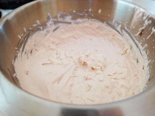 making whipping cream