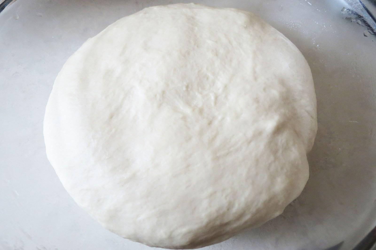 rested-dough-focaccia- bread