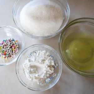 ingredients meringue