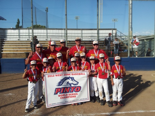 Mission Viejo Pony team wins World Series