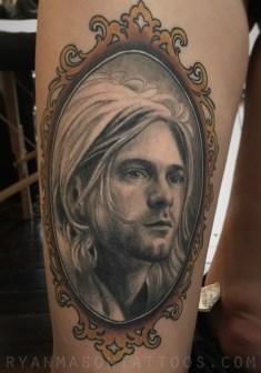 healed kurt cobain portrait, 2016