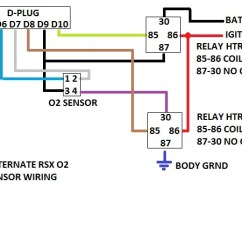 4 Wire Oxygen Sensor Wiring Diagram Warn 2000 Lb Atv Winch Hondata | The S2k And Ant