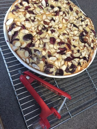 baked clafoutis