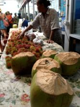coconuts to drink!!!