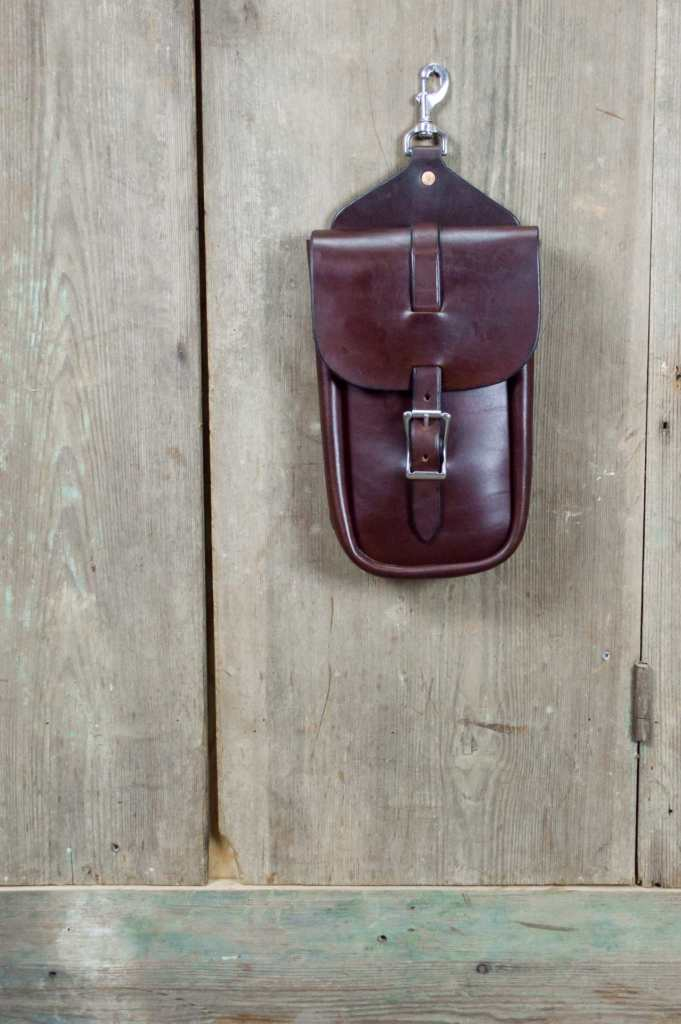 Large Single Saddle Bag Close-Up 2