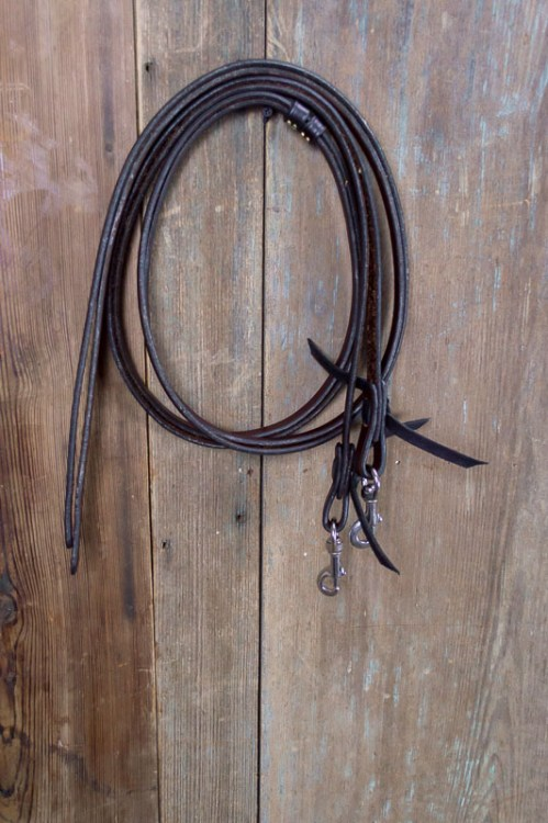 Image of flat split reins.