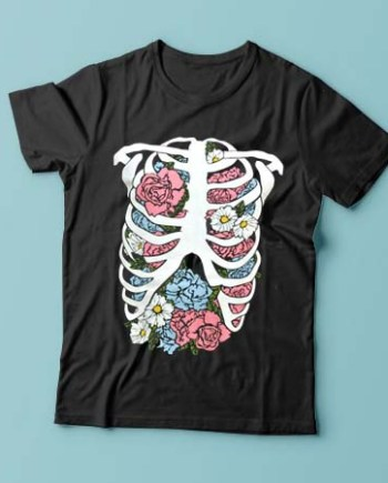 Floral Rib Cage