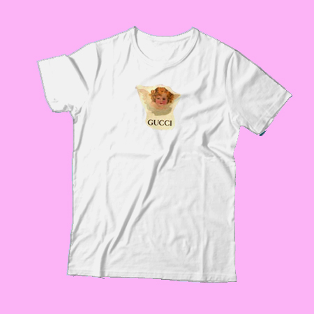 a66f3d24 Gucci Angel T-SHIRT For Men and Women - thesadsong.com