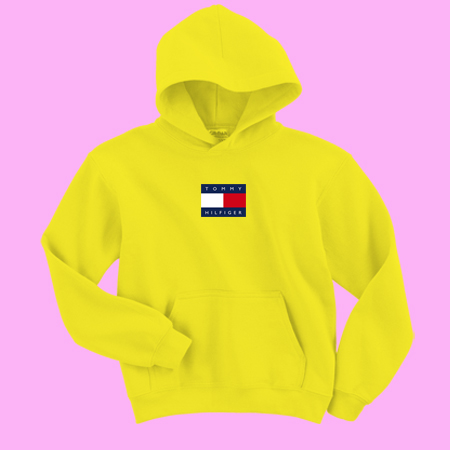 2fdf2730f Tommy Hilfiger Yellow Sweatshirt and Hoodie - thesadsong.com