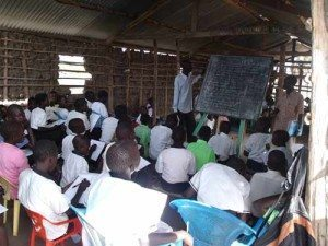 South Sudan - Students In A Classroom