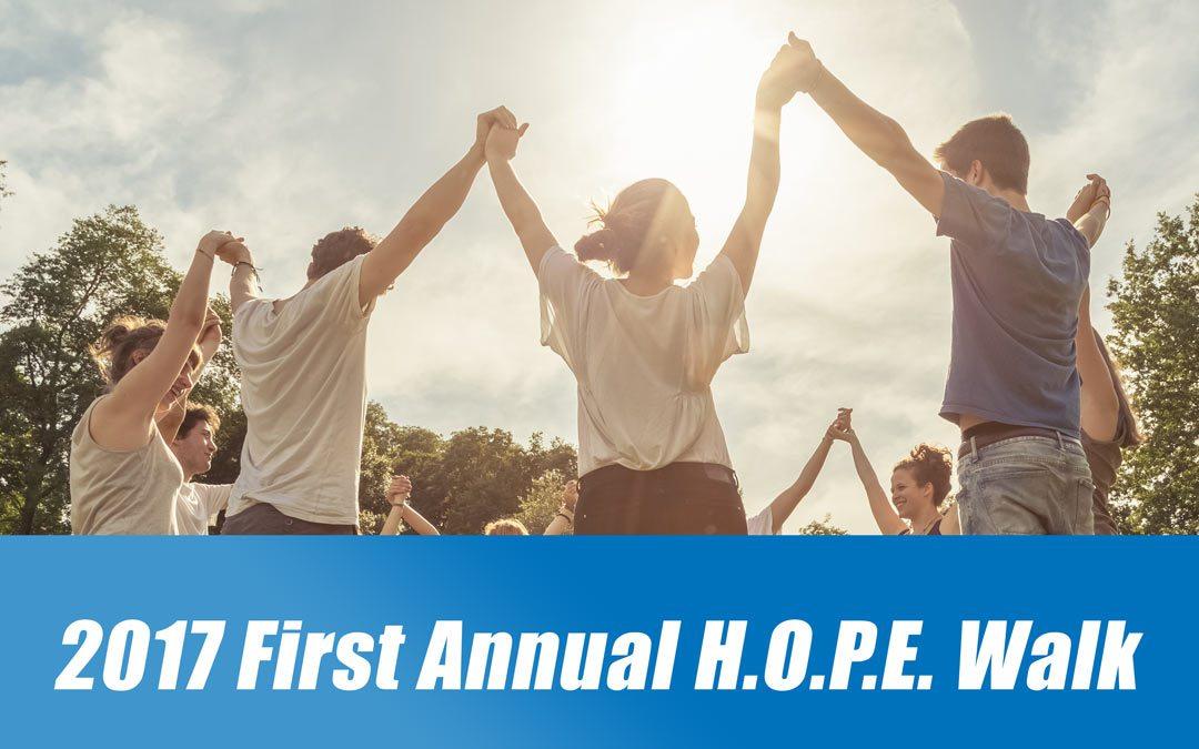 2017 H.O.P.E. Walk of Shelby County