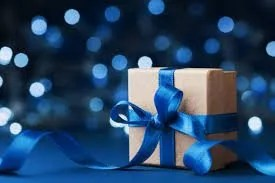 give and take - gift wrapped present