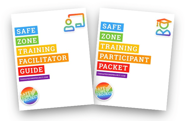 The new covers for the Facilitator Guide and Participant Packet