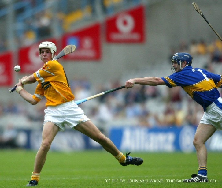 Watson in action against Tipperary in 2002
