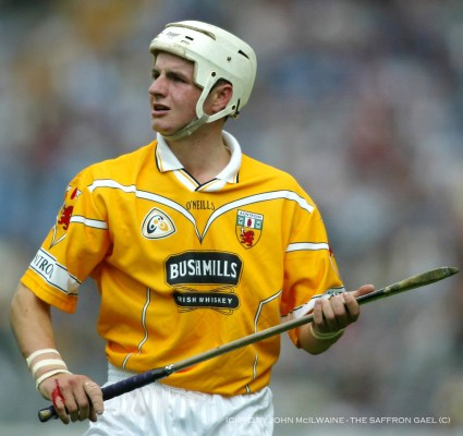 Liam Watson against Tipperary in the 2002 All Irealnd quarter final