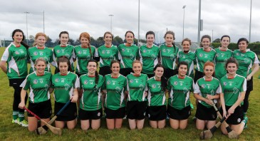 The Bridini Oga team who beat Derry champions Ballinderry in the Ulster Junior Camogie qyarter-final at Shamrock Park, Ballinderryl. Pic by John McIlwaine