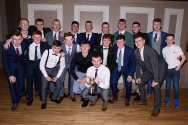 Pictured are the Aldergrove GAC Minor B Champions.