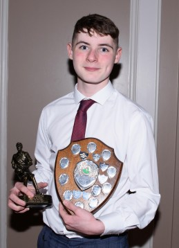 Conleith O'Toole who was voted Under 14 player of the year.