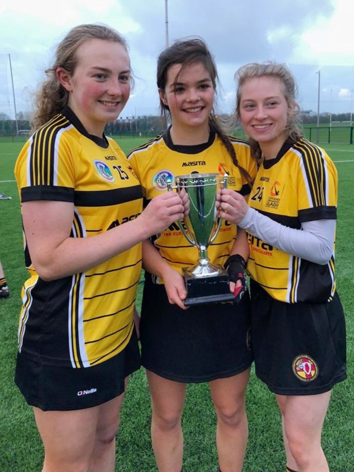 3 CPC girls with Cup