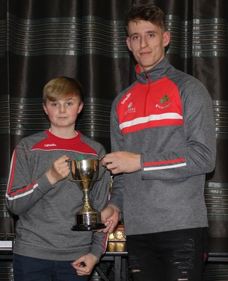 NA Feile Capt Eoin McGarry with James McNaughton