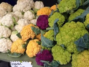tri color cauliflower