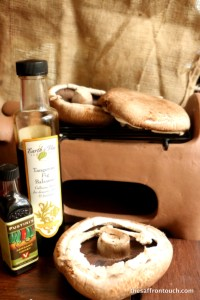Mushrooms and vinegar