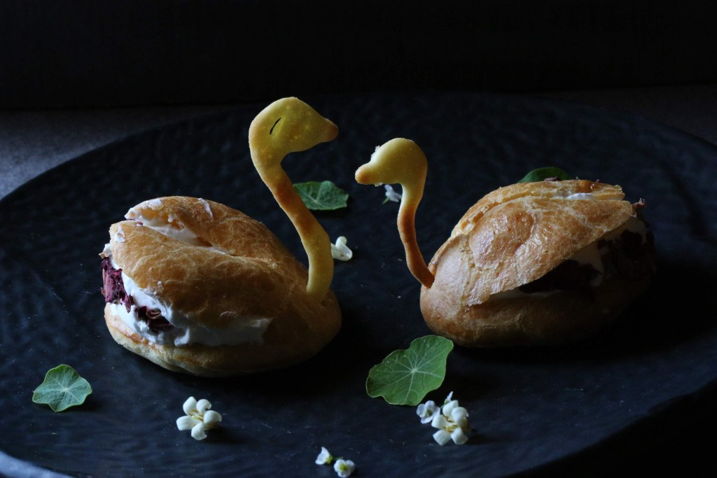 Pate a choux pastry