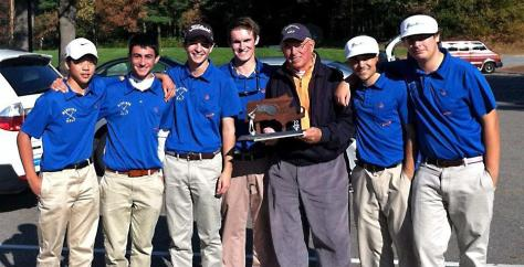 Golf's seniors lead the drive