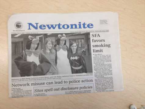 Breaking: Newton North newspaper to buyout Sagamore (April Fool's)