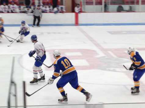 Game of the Week: Boys ice hockey falls to Norwood in fast-paced contest