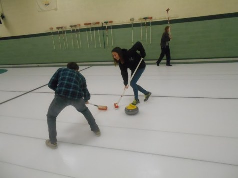 Curling popularity sweeps through the high school