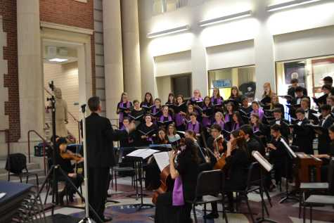 "Brookline and Newton North's choral groups come together for ""A Team of Rivals"""