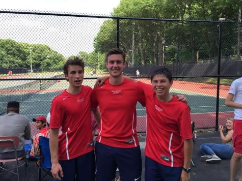 Boys tennis team dominates Framingham, heads to sectional finals
