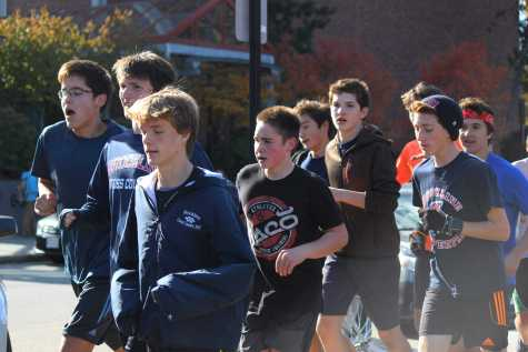 Aramburu competes in national cross country race