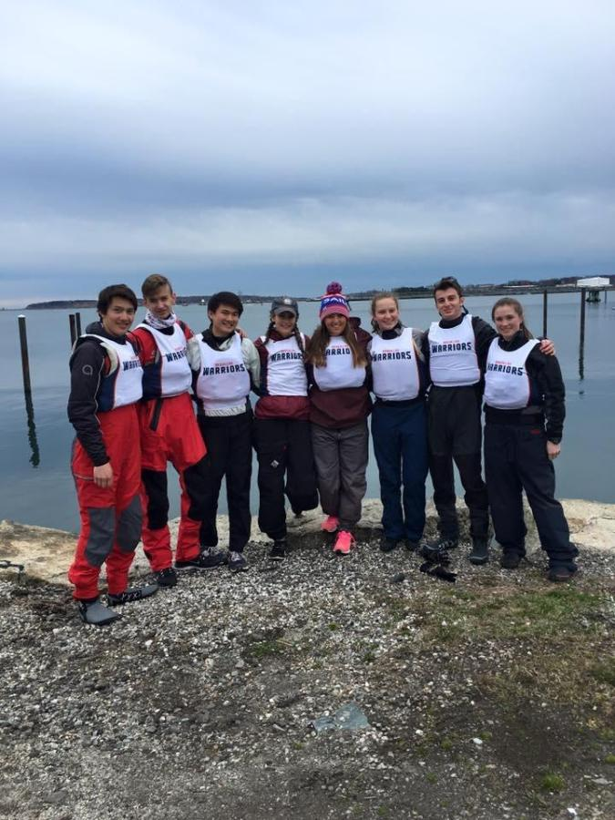 The+sailing+team%27s+captains%2C+without+a+coach+for+the+start+of+the+season%2C+helped+teach+their+athletes+with+sailing-based+material.+Provided+by+Will+Neubauer