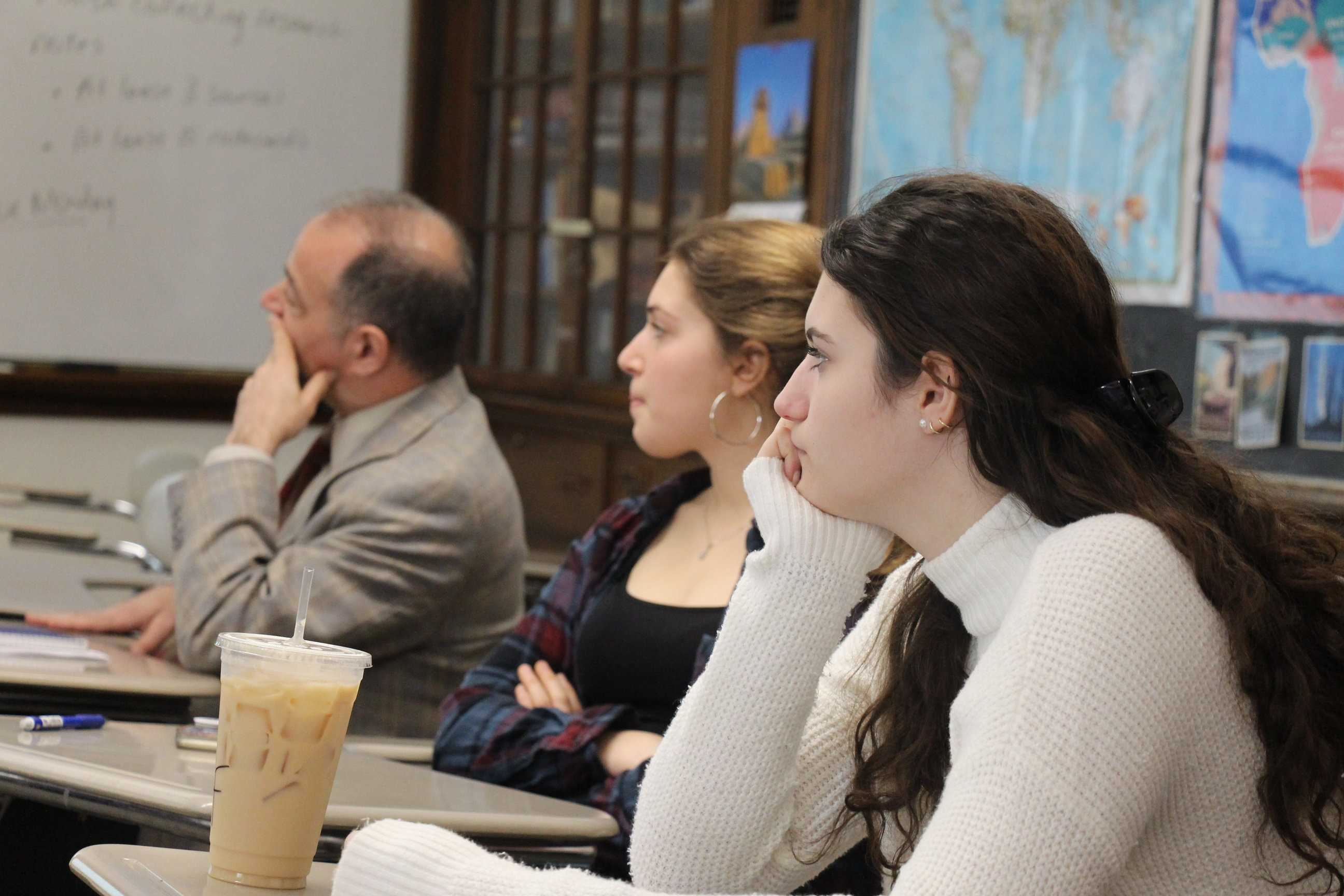 Religious clubs, such as the Jewish Student Club speak about current events and provide a safe place.